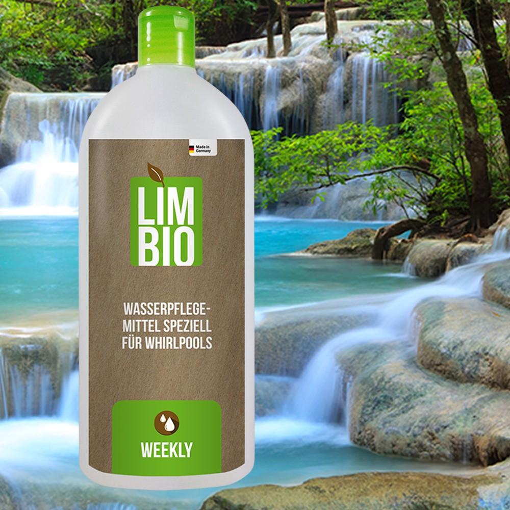 LIMBIO Whirlpool 500 ml. Das natürliche chlorfreie Wasserpflege Mittel speziell für Whirlpools.