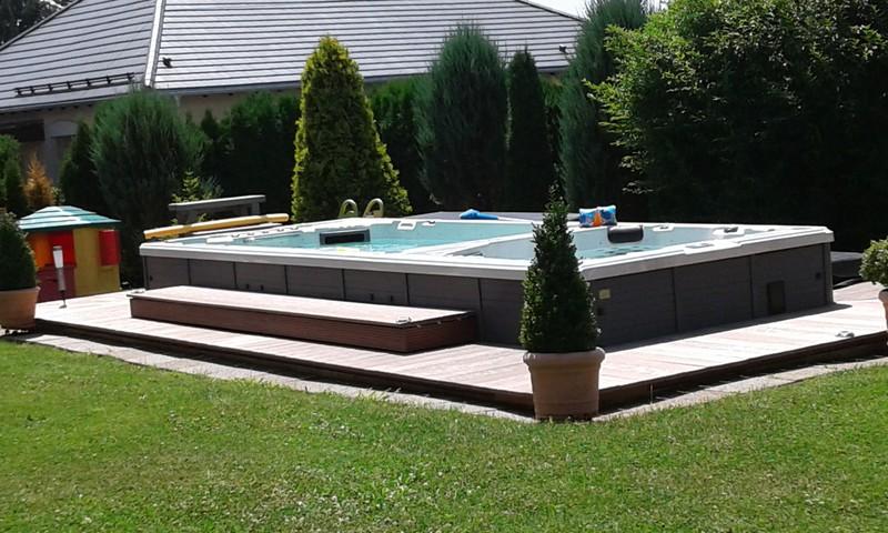 Meltemi 594 Deep Swim Spa mit Gegenstromanlage
