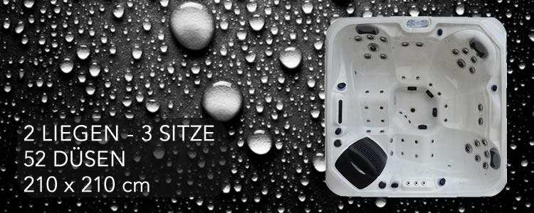 Platinum Spa Z-5 / 210 x 210 cm