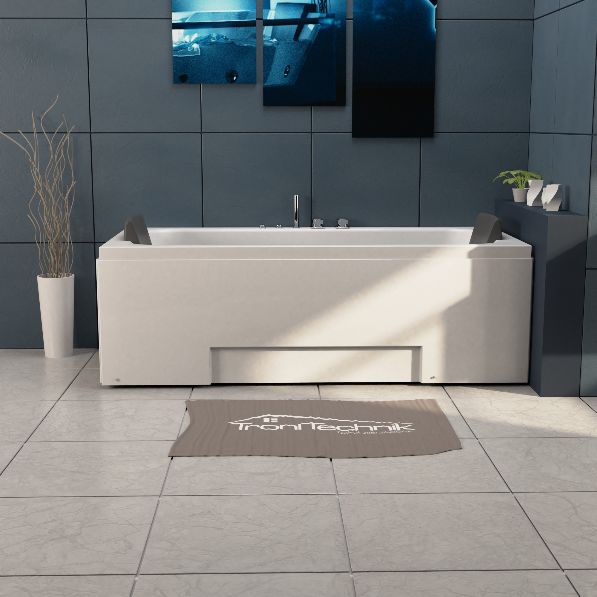 Whirlpool IOS 170 x 75, für den Innenbereich