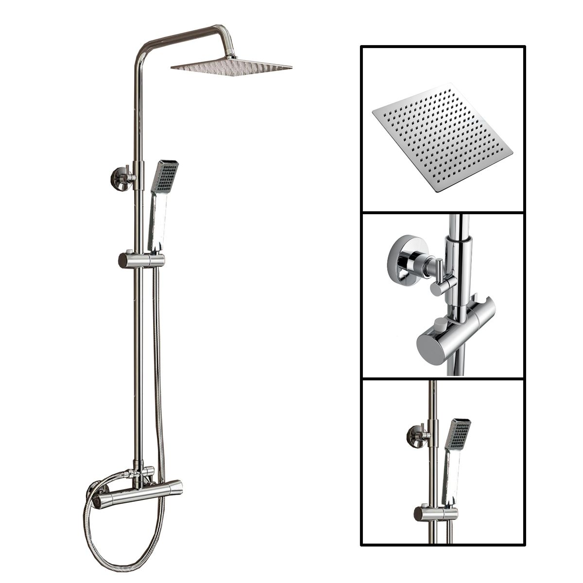 Duschsystem Hera mit Duscharmatur