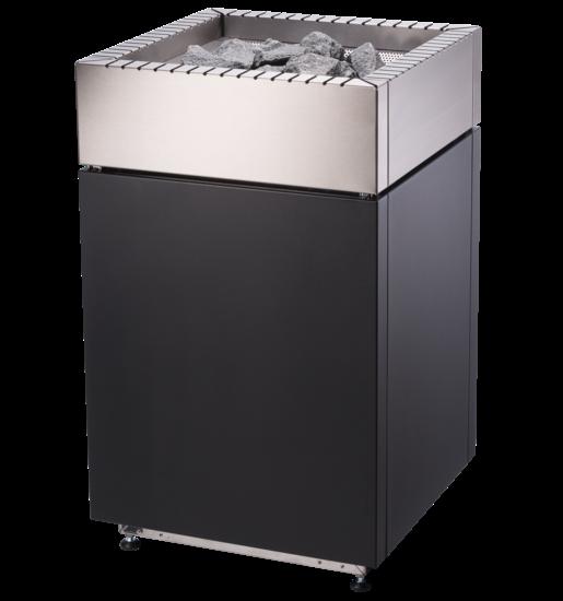Saunaofen Qube 90 / 150 aus Edelstahl in verschiedenen Leistungsstufen