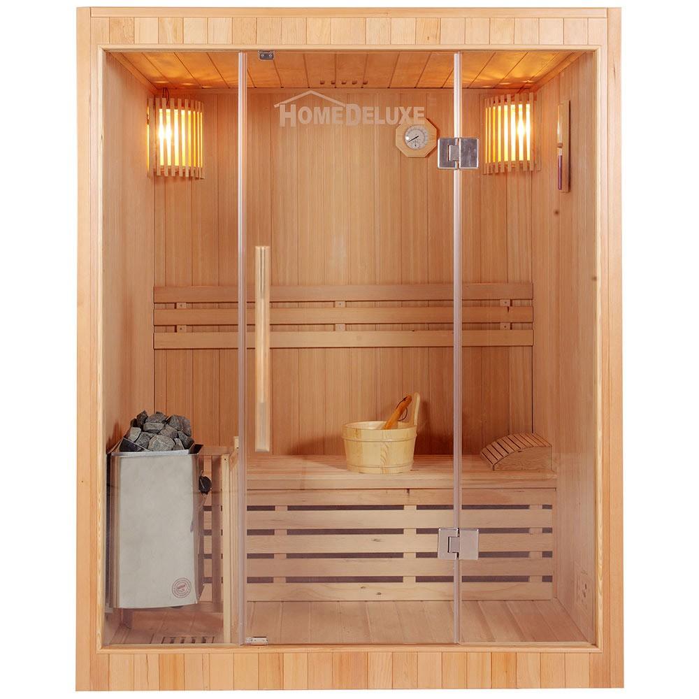 Traditionelle Sauna Skyline L