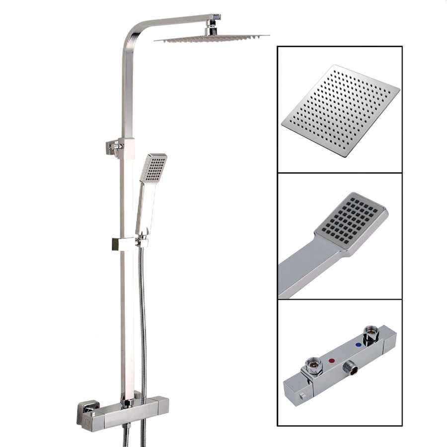 Duschsystem Helios mit Duscharmatur