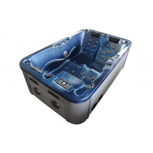 Outdoor Whirlpool Modena blau 205 x 130