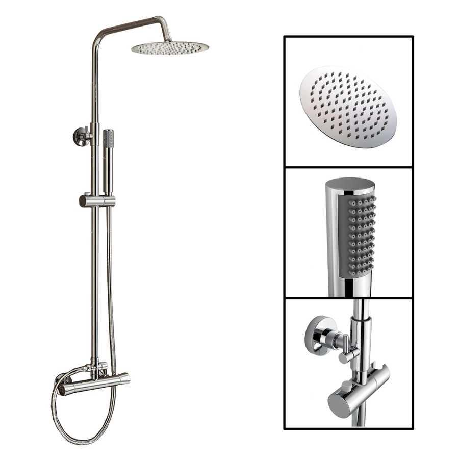 Duschsystem Acheron mit Duscharmatur