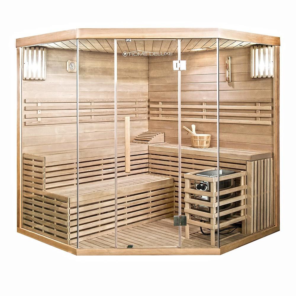 Traditionelle Sauna Skyline XL BIG